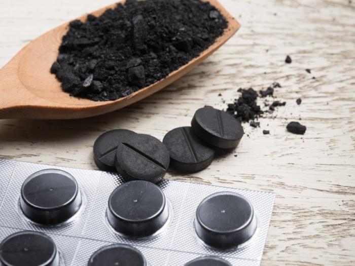 charbon végétal en granules et en poudre bienfaits