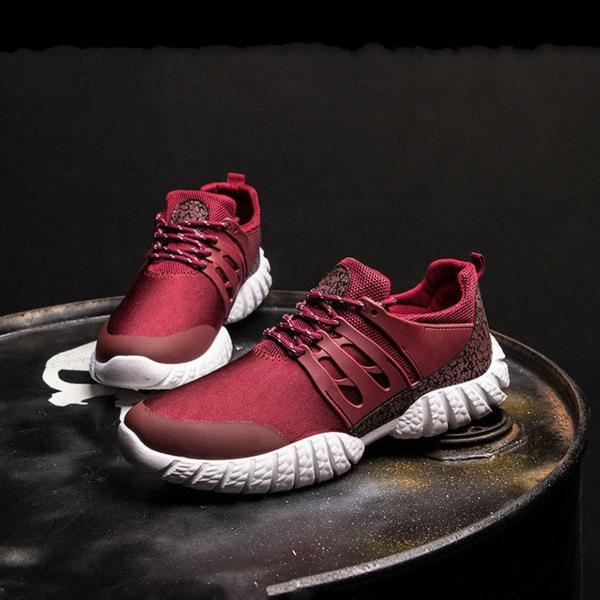 comment choisir ses chaussures de sport homme baskets rouges