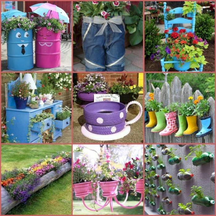 déco jardin récup diy projets de recyclage