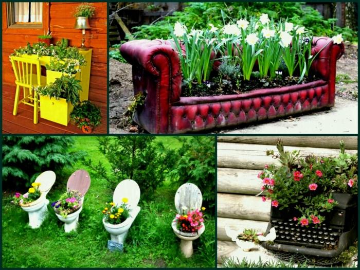 déco jardin récup idées pour vous inspirer