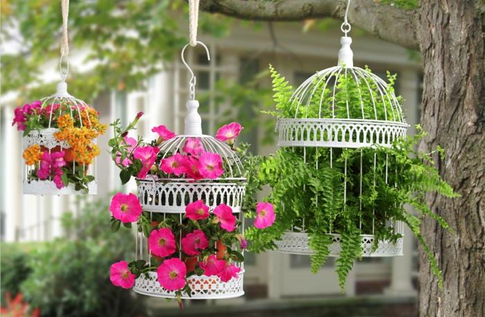 déco jardin récup jardinière originale