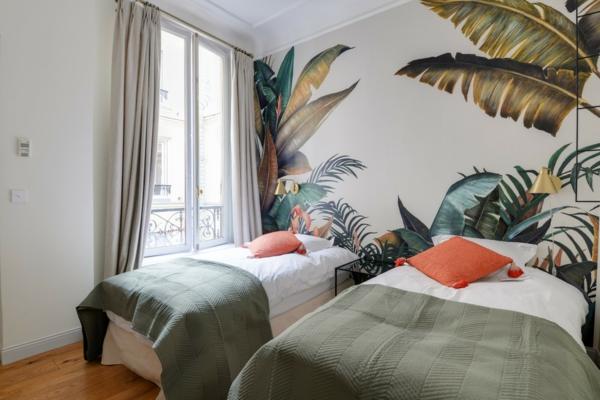 Déco Jungle Chambre Adulte Mur Du0027accent