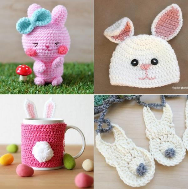 diy crochet lapin de pâques