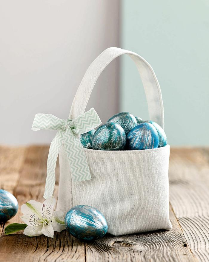 diy panier de Pâques à partir de tissu