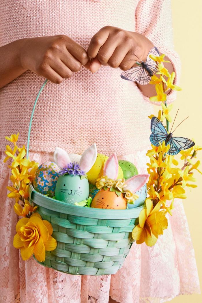 diy panier de Pâques adorable