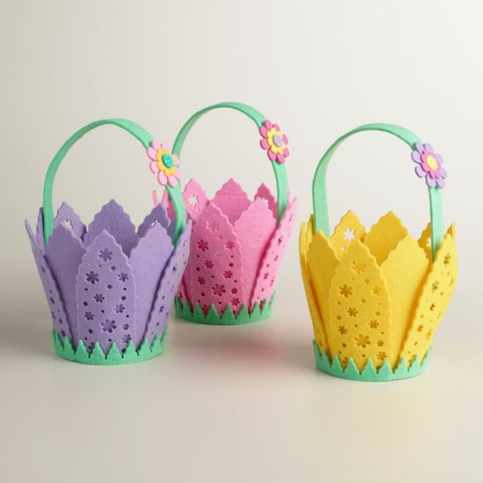 diy panier de Pâques pour les enfants