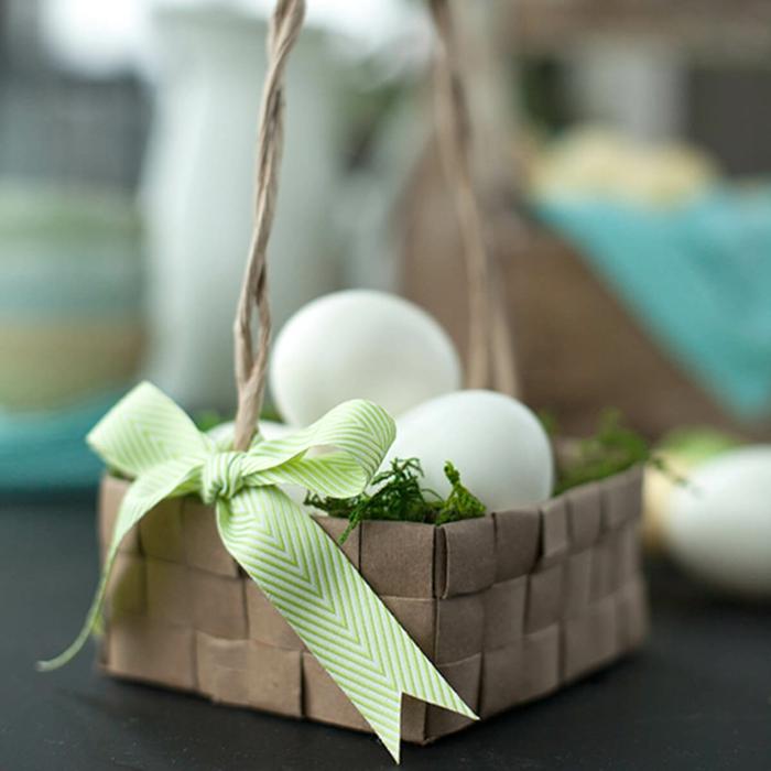 diy projet panier de Pâques