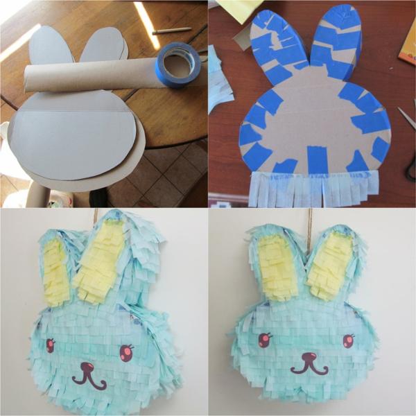 fabriquer vous-même un lapin de Pâques piñata