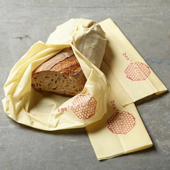film alimentaire lavable diy facile emballage pain