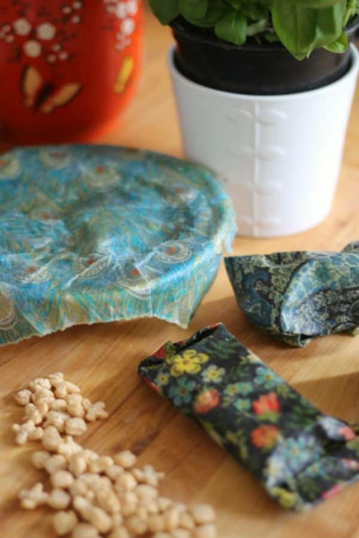 film alimentaire lavable réutilisable pour réduire les déchets