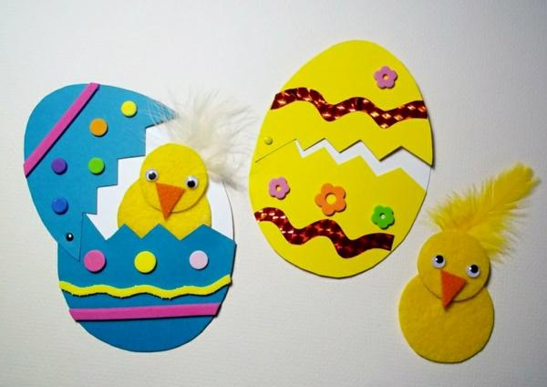 idée activité manuelle pâques diy maternelle carton