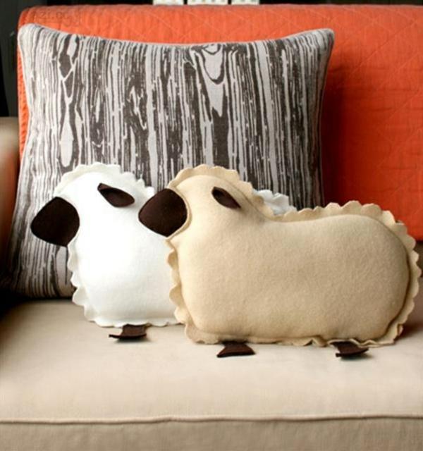 idée activité manuelle pâques diy moutons en textile
