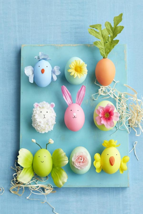 idée activité manuelle pâques diy oeufs décorés