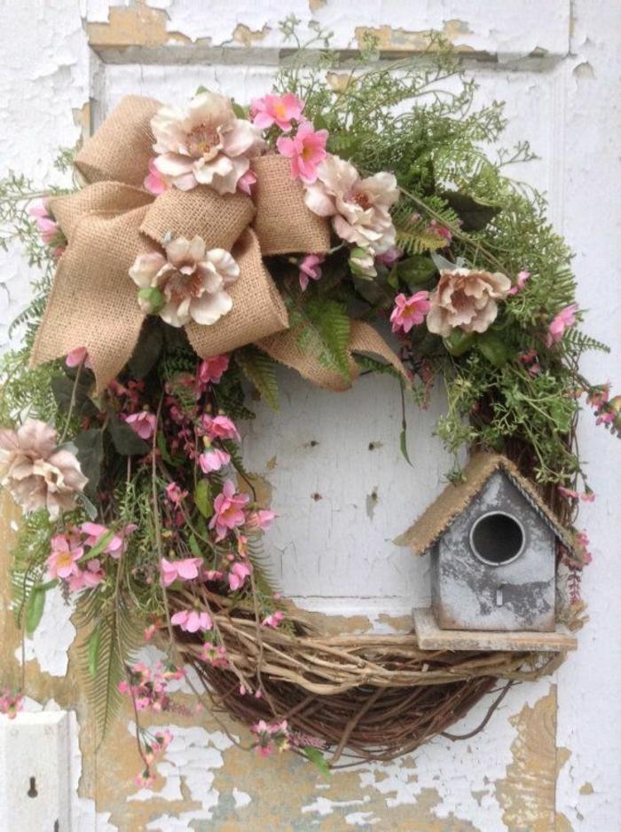 idée couronne activité manuelle printemps