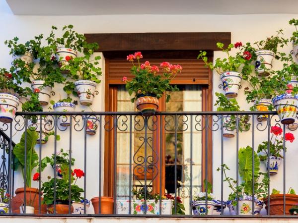 idée déco balcon pour Pâques un balcon magnifique