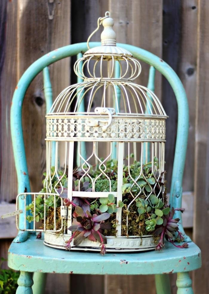 idée déco jardin récup