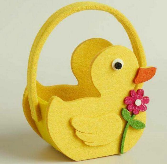 idée inspirante panier de Pâques diy