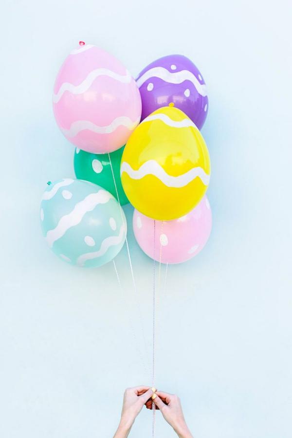 idées bricolage de Pâques maternelle effet époustouflant