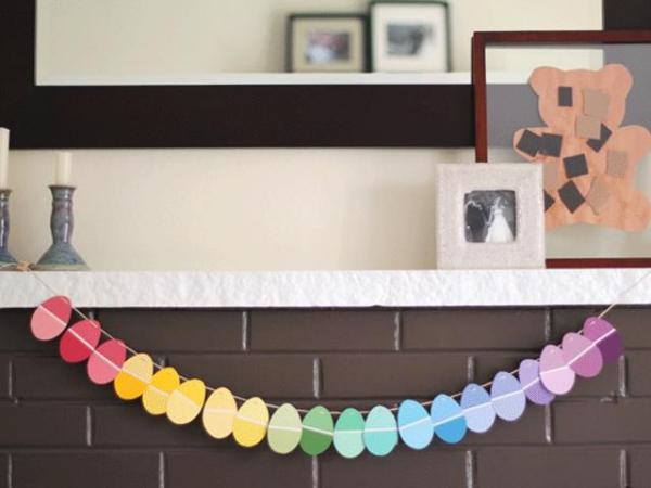 idées bricolage de Pâques maternelleguirlandes de Pâques