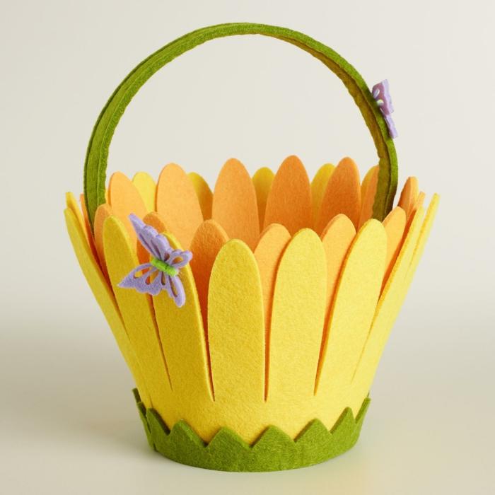 joli panier de Pâques diy