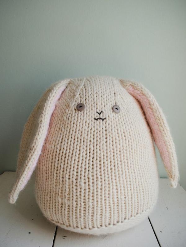 lapin de pâques fait au crochet