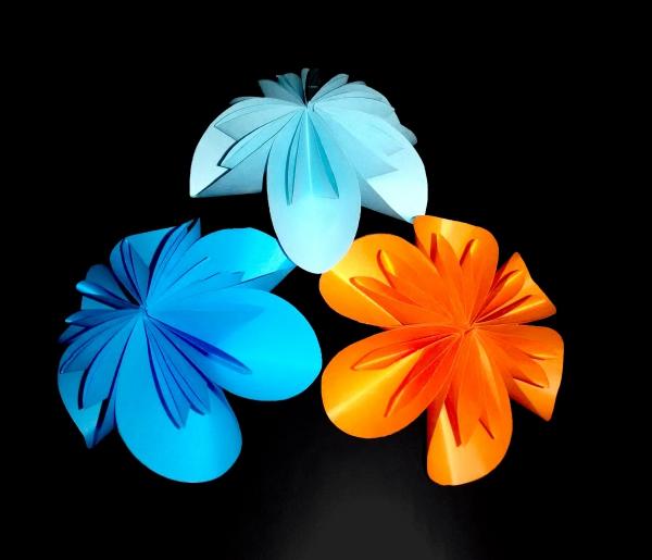 origami fleurs et animaux de printemps idée facile