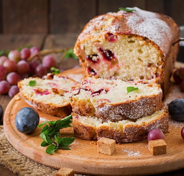 raisin sec un cake savoureux