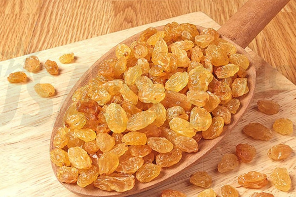 raisin sec un traitement chimique
