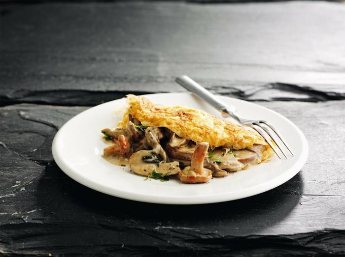 recette omelette champignons