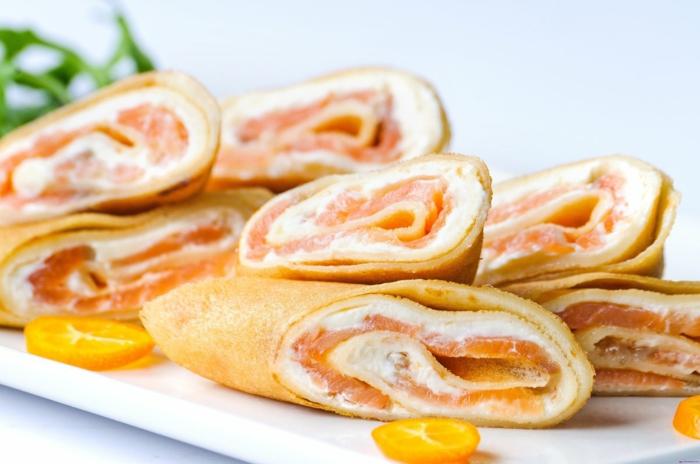 recette omelette facile au saumon