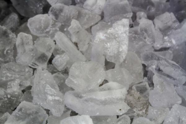 sel rose d'Himalaya d'origine naturelle