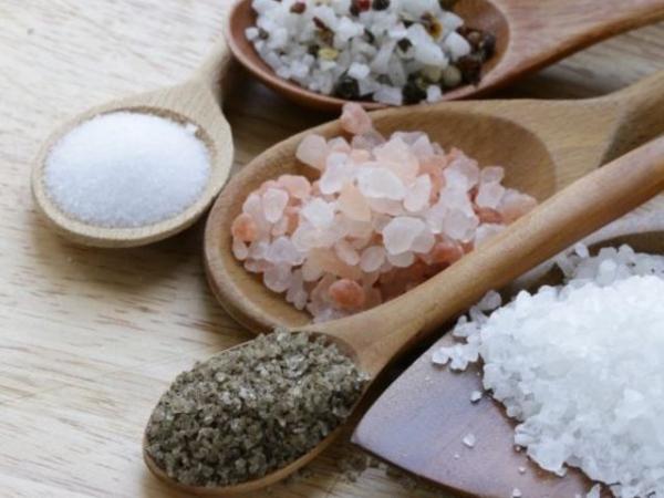 sel rose d'Himalaya quelques types de sel