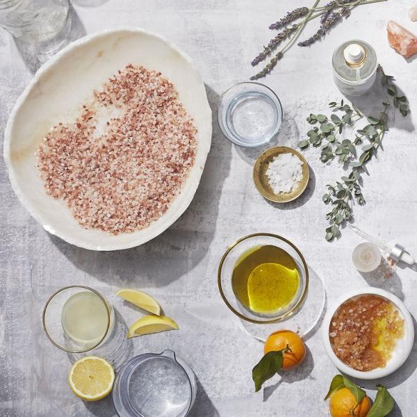 sel rose d'Himalaya utilisé à la cuisine
