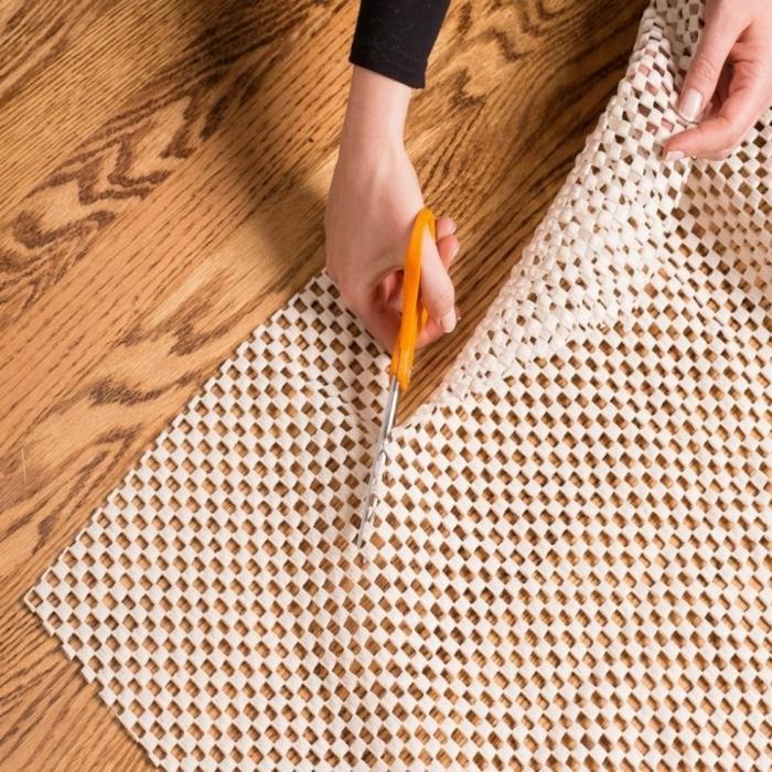 sous-couche antidérapante pour un tapis au bouchon de liège