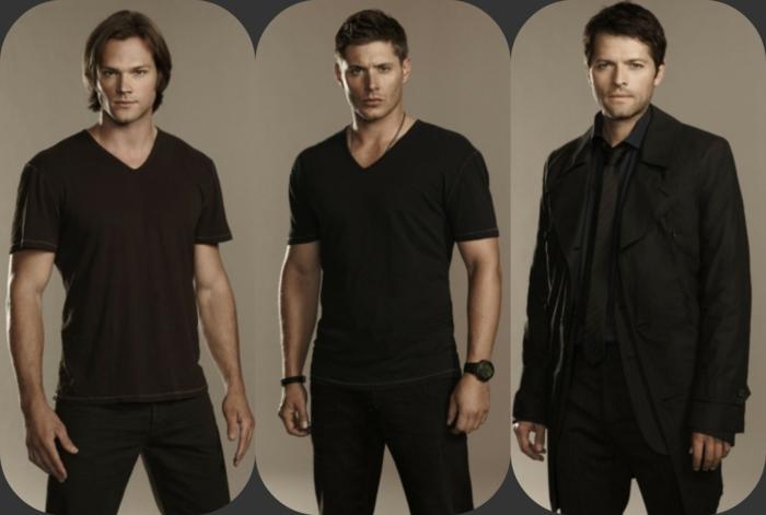 supernatural saison 15 dean, sam et castiel