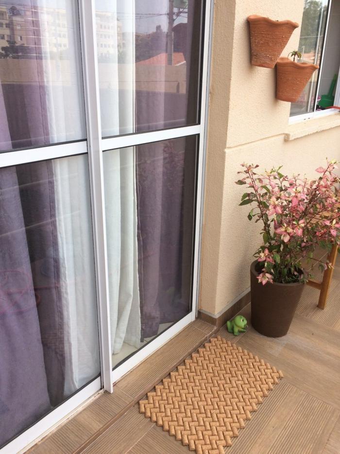 tapis de sol avec bouchon de liège