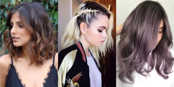 tendance couleur cheveux printemps 2019 couleurs à trois