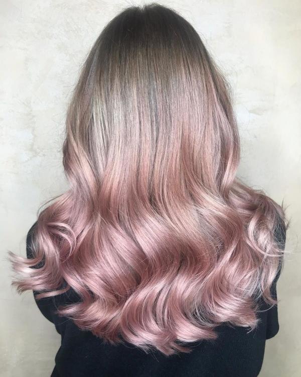 tendance couleur cheveux printemps 2019 pastel tendre