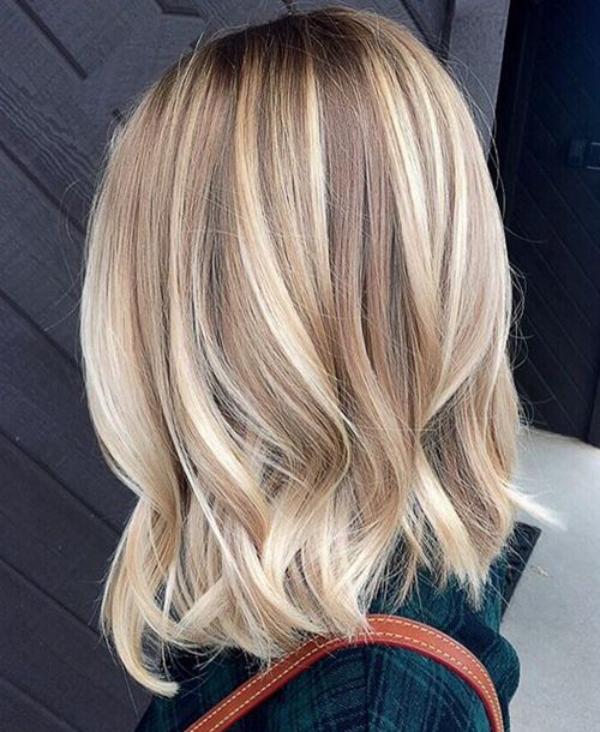 tendance couleur cheveux printemps 2019 pour les blondes
