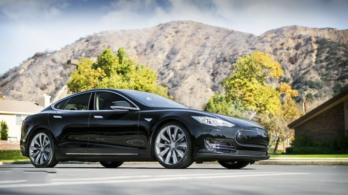 tesla voiture model s