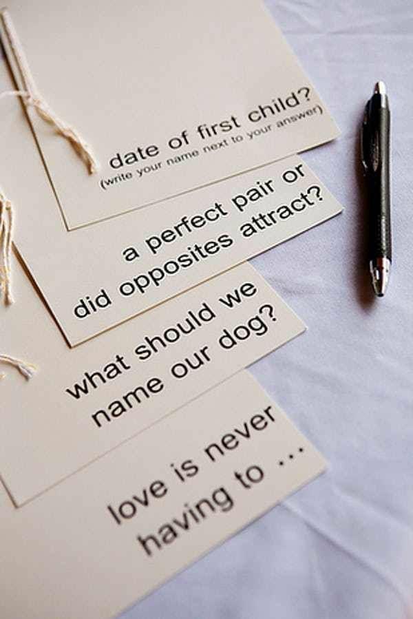 8 astuces pour faire de votre mariage un jour inoubliable jeux de devinettes