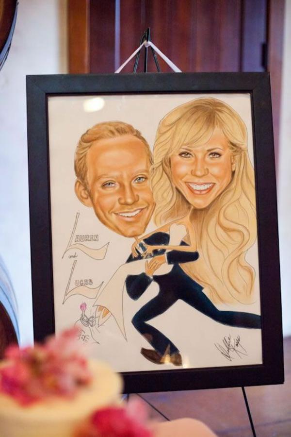 Animation mariage originale - 13 idées que vos invités vont adorer caricaturiste