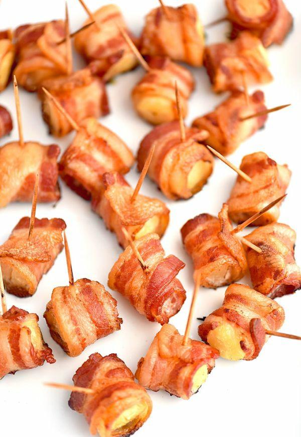 Brochette apéro - 70 idées de recettes qui mettent de l'eau à la bouche bacon ananas
