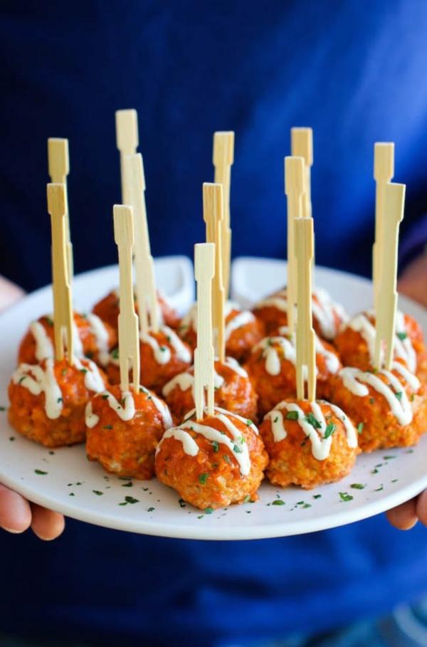 Brochette apéro - 70 idées de recettes qui mettent de l'eau à la bouche poulet viande de veau hachée