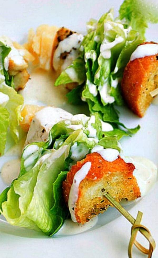 Brochette apéro - 70 idées de recettes qui mettent de l'eau à la bouche salade
