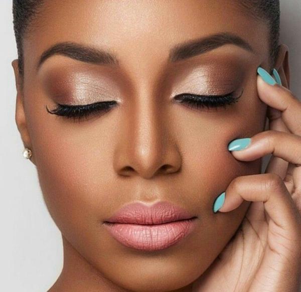Contouring peau noire en 4 étapes faciles structure visage