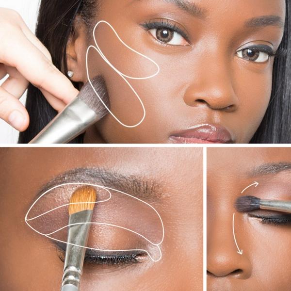 Contouring peau noire en 4 étapes faciles - tuto