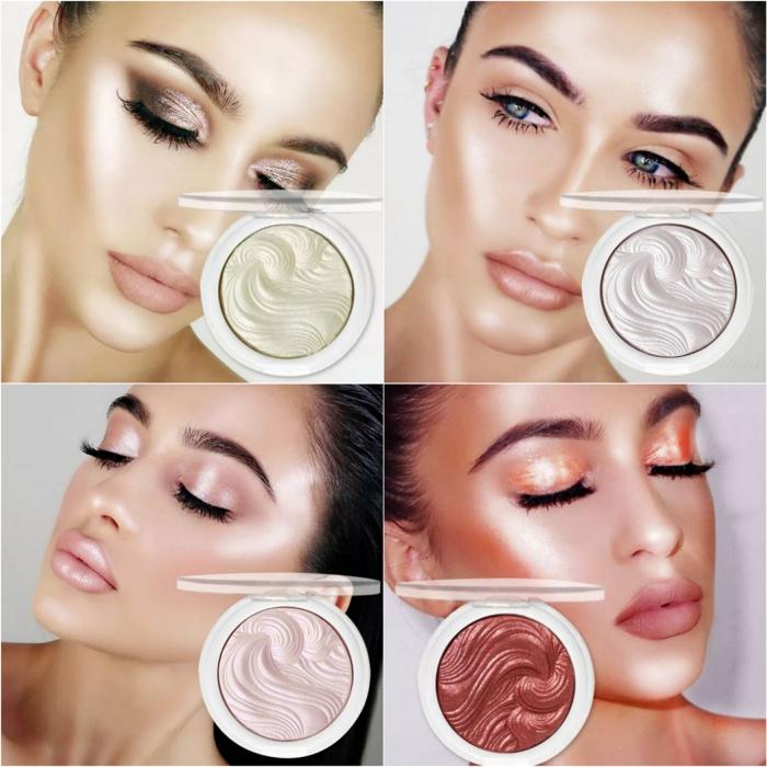 Highlighter Découvrez ses différentes méthodes d'application comme rouge à lèvre blush fard à paupières