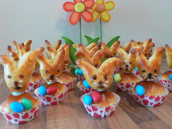 Pâtisserie lapin de Pâques - recettes faciles et beaucoup d'idées brioche lapin de pâques moule à muffins