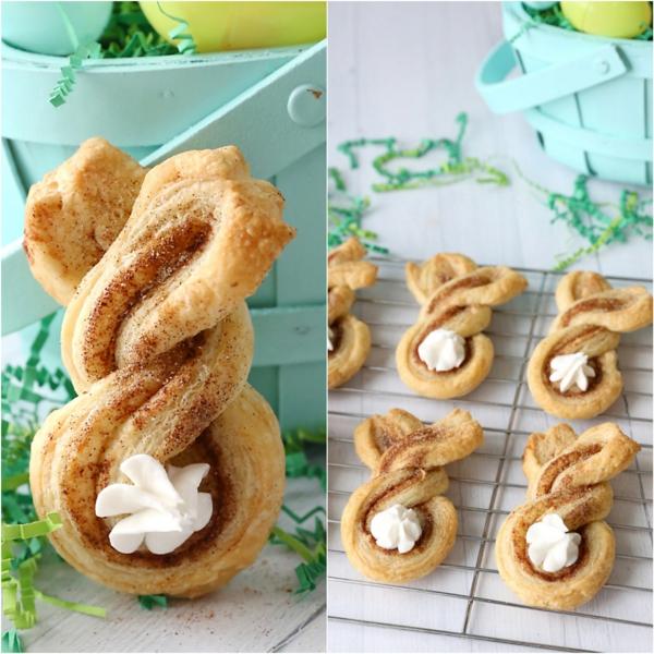 Pâtisserie lapin de Pâques - recettes faciles et beaucoup d'idées brioche pâte tressée cannelle